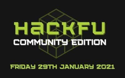 Win a place @HackFu 2021 Community Edition!
