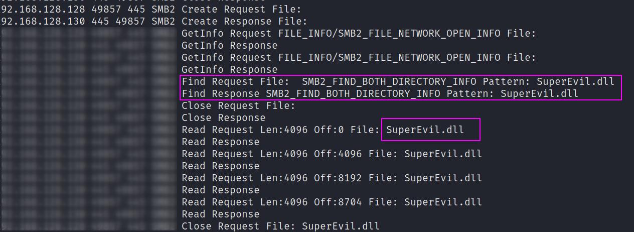 PrintNightmare Network Analysis 1