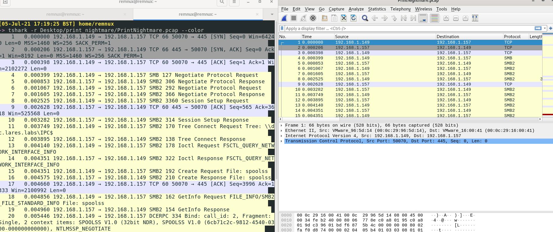 PrintNightmare Network Analysis 6