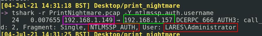 PrintNightmare Network Analysis 8
